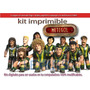 Kit Imprimible Candy Bar Metegol La Pelicula