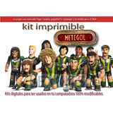 Kit Imprimible Candy Bar Metegol La Pelicula