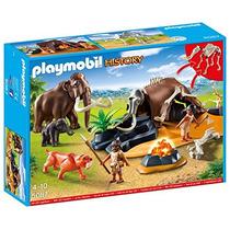 Playmobil 5087 História - Acampamento Pré História - Lacrado
