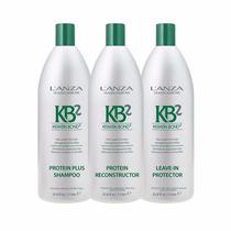 Lanza Kb2 Protein Profissional Kit 3 Produtos
