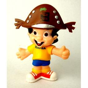 Boneco Mascote Casas Bahia - 10 Cm Em Vinil - Baianinho Novo