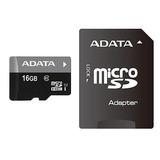 Memoria Adata Micro Sdhc Uhs-i 16gb Clase 10 Pc,lap,cel,tabl