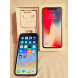 Iphone X (10) Plata 64 Gb