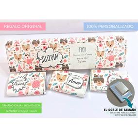 Souvenir Chocolate Personalizado Con Caja + 3 Chocos