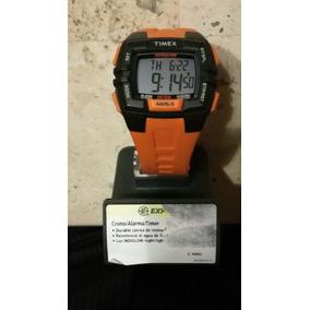 Reloj Nuevo Timex Expedition Naranja Y Negro.