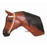 Cabeça De Cavalo Parede - Decoração - Rancho, Fazenda, Haras