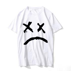 Kit 4 Camisetas Fã Lil Peep Sad Boys Forever Trap Cry Baby. 5. 75 vendidos  · Camiseta Lil Peep 100% Algodão Lançamento ac0cb98ddaee3
