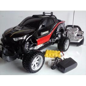 Carrinho Jeep Controle Remoto Bateria Recarregável C/ Farol