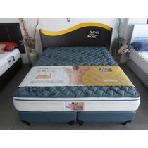 Sommier King Koil 160x200 Aspen Resorte Individuales Pilllow