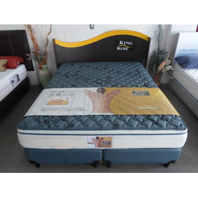 Sommier King Koil 160x200 Aspen Res Individual + Pilllow Top