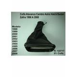 Coifa Alavanca Cambio Astra Hatch Sedan Zafira 1998 A 2008
