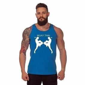 Camiseta Regata Muay Thai Musculação - Camisa 5 Cores