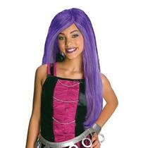 Disfraz Niña Peluca De Monster High Spectra Vondergeist Niñ