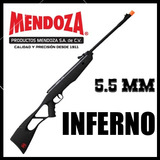 Rifle Deportivo Mendoza Inferno 5.5 + Regalos