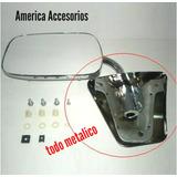 Espejo Metalico Chevrolet Silverado Cromado