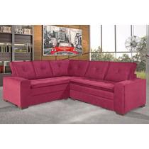 Sofa Canto Califórnia 2x3 Lugares