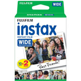 Papel Fotográfico Fujifilm Instax Wide Twin Pack - 5 Packs