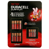 Duracell Quantum 8 Aa Y 4aaa Exclusivo Power Check¿ Tm