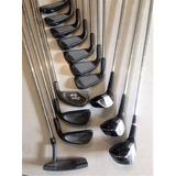 Palos Hierros De Golf Juego Completo X 14 (muy Poco Uso)