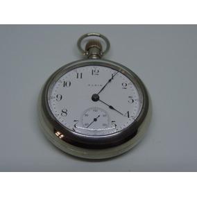 Lindo E Antigo Relógio De Bolso Americano Marca Elgin