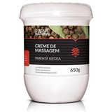 Creme De Massagem Pimenta Negra 650g Dágua Natural