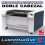 Maquina Para Corte Y Grabado Laser Doble Cabezal 1300x900