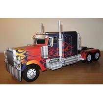 Projeto Papercraft Caminhão Optimus Prime Transformers