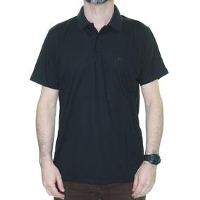 Camisa Masculina Quiksilver Piquet Polo Manga Curta - Preto a71fe44eb2c