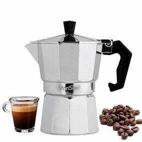 Cafetera Vonshef 3 Copa Italiana Espresso Estufa