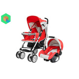 Coche Para Bebe Travel System Cross + Portabebe Baby Kits