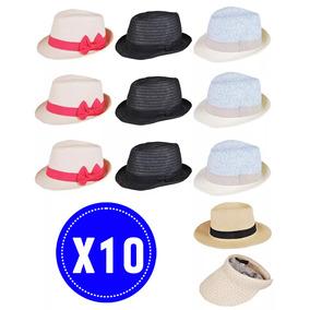10 Pack Sombreros Doit! Mujer Moda Original Venta Ofertas
