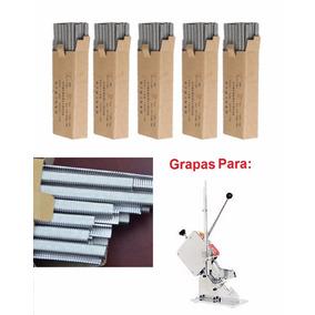 5 Cajas De Grapas Tipo U 506 P/ Grapadora Chorizo Embutidos