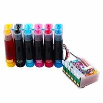 Sistema Tinta Recarga Continua Epson T50 Tx700 Tx720 Tx730