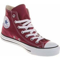Tênis All Star Bota Core Hi Bordô Tradicional