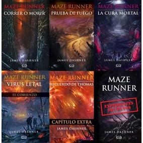Saga Completa Maze Runner 6 Ebooks En Español James Dashner
