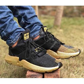 Blanco Dorado Hombre Adidas Zapatos En Deportivos Con 0R8x86