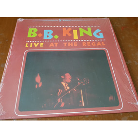 B.b. King Live At The Regal Vinilo Lp 180gr ¡oferta!