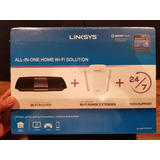 Linksys Ac1700 Router + Ac 1200 Extended Sellado