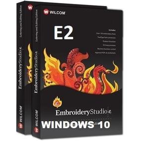 Wilcom Embroidery Studio E2 Windows 10 Compatible + Diseños
