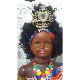 Boneca Amiguinha Estrela Rainha Negra