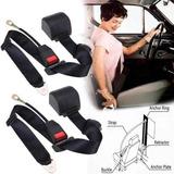 Cinturones Seguridad Retractil 3 Puntas Auto Juego.x2