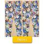 Pantalon Leggins Licras Estampado Flores Talla L Mor-08l