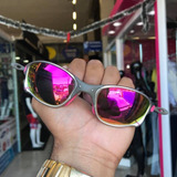 5778faa7761df Óculos Oakley Juliet Rosa 24k Double X Polarizad Original