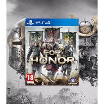 For Honor Ps4 Código Psn Lançamento Feb 14, 2017 Pré-venda