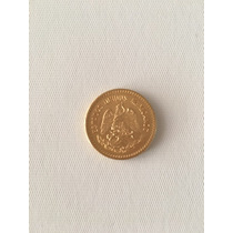 Moneda Diez Pesos Oro 1917