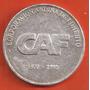 Medalla De Corporacion Andina De Fomento 1995, Plata Pura