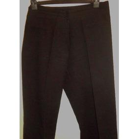 Pantalon De Vestir Antiarruga Bota Semi Recta Tiro Medio