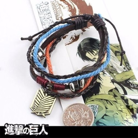 Pulsera Attack On Titan Shingeki No Kyojin Cosplay