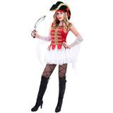 Disfraz Mujer Pirata Talla Única D0025 Halloween Piratas