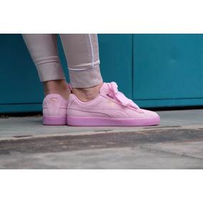 puma suede mujer rosa